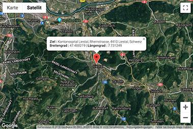 GoogleMaps Koordinaten